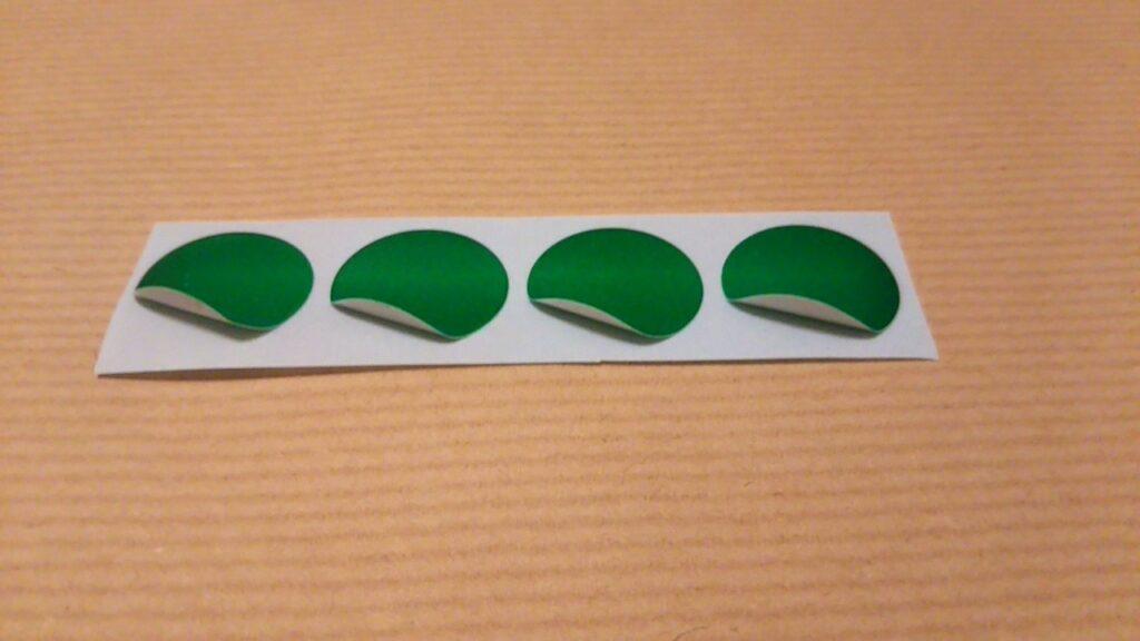 シール貼りプリントの使い方(シール準備・複数枚)