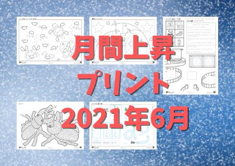 月間上昇プリント(2021年6月)